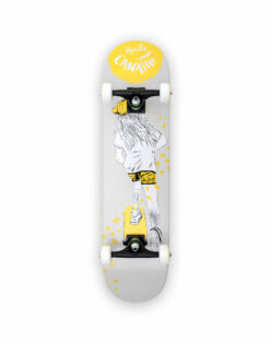 Skateboard Complet RIDEUSE JAUNE