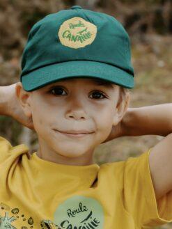 casquette Roule Canaille verte