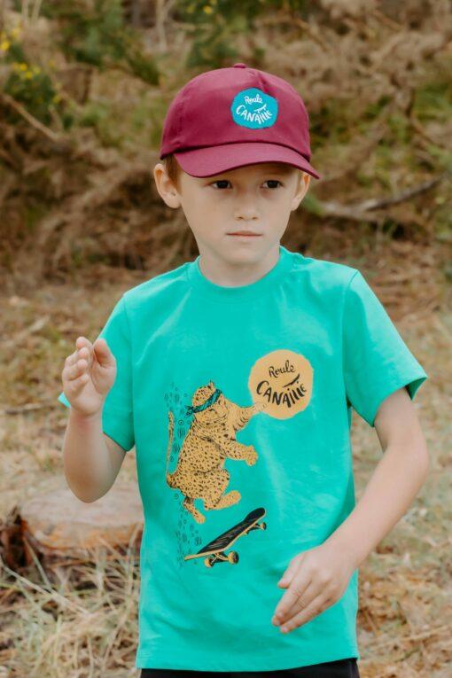 Tee shirt Oscar le léopard