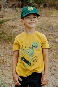 Tee-shirt soleil Léa la grenouille 2
